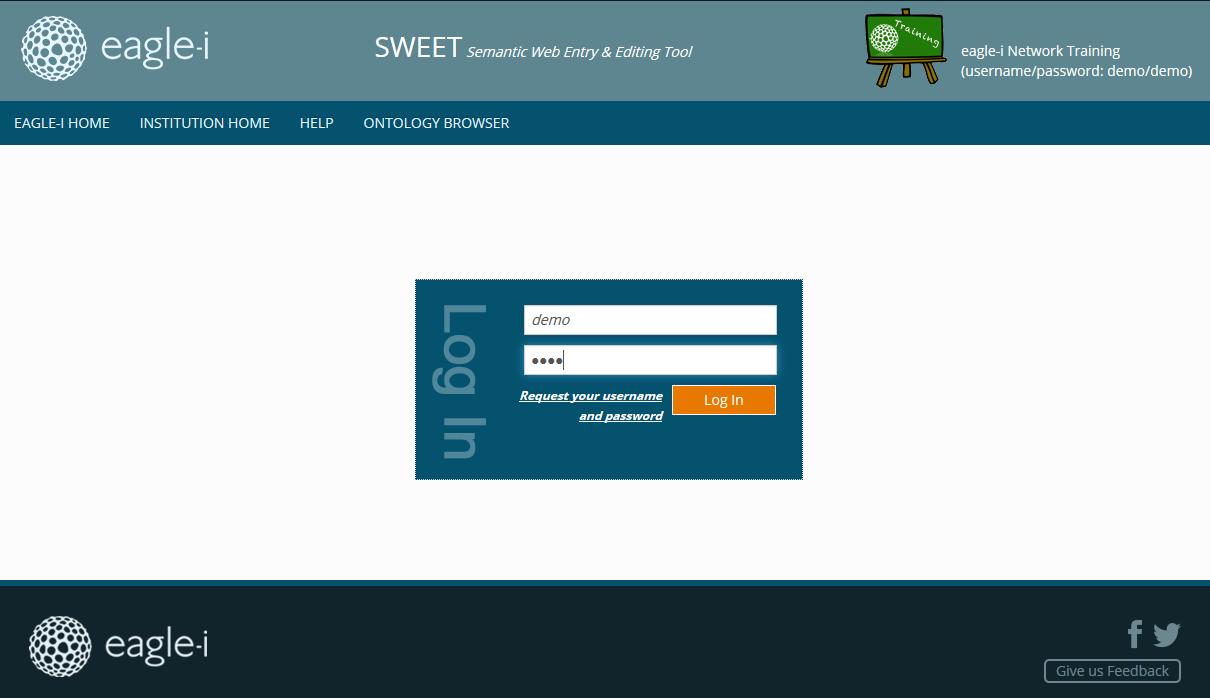 Try the eagle-i software online - eagle-i - open.med wiki
