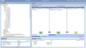 screenshot of a simple query being run
